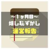 【運営報告】月間20万PVのグルメブログと副業ブログの収益公開☆【専業1ヵ月目】